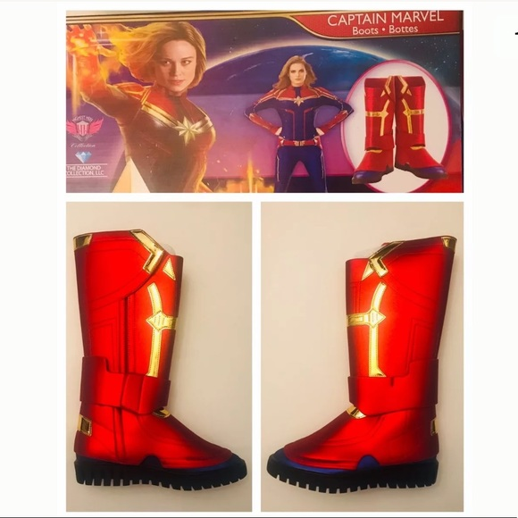 Marvel Shoes Captain Marvel Mcu Diamond Cosplay Costume Boots Poshmark Try our free drive up service, available only in the target app. captain marvel mcu diamond cosplay costume boots